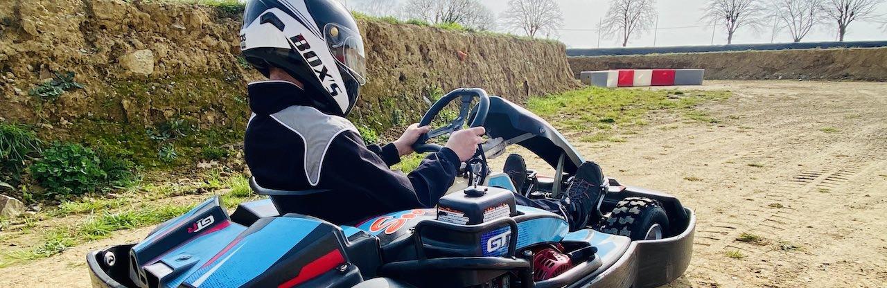 Karting sur terre à Nantes
