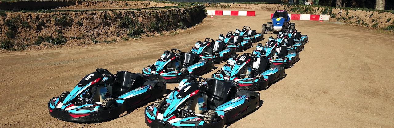Karts Cross sur circuit terre à Sautron